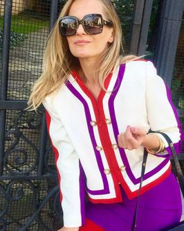 Vintage Renzo Kostüm Chanel Style
