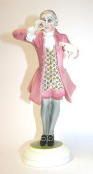 Goldscheider Figur Gentleman Tabakschnupfer c. 1920