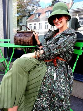 Vintage 70er Camouflage Regenmantel
