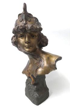 Zinnfigur  PR Büste Kleopatra c. 1900