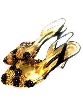 Vintage Renè Caovilla Slingback Heels