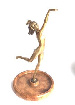 Lorenzl Tänzerin Bronze c. 1920