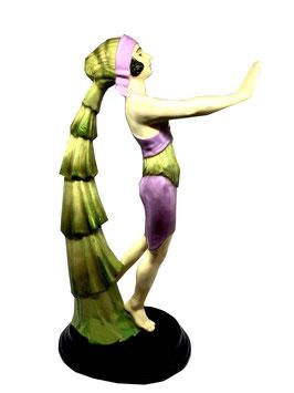Wiener Kunst Keramik Art Deko Figur Tänzerin