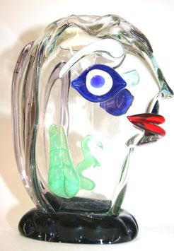 Murano Vase  Design Glaskopf  1980