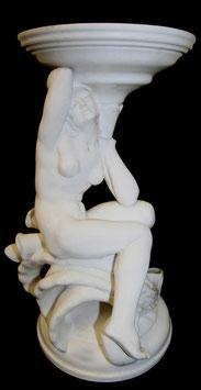 Keramik Figur J. Vanca Kunstkeramik Akt Aufsatzschale 1933