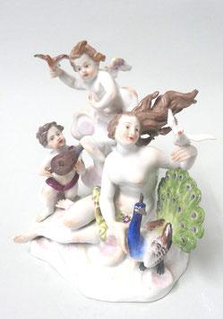 Meissen Figur Porzellangruppe Allegorie der Erde c. 1820