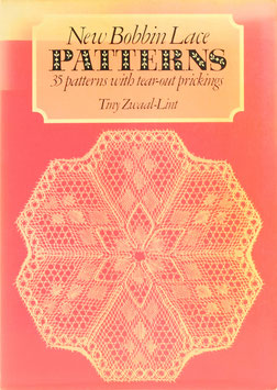 Zwaal-Lint, Tiny - New Bobbin Lace Patterns - 35 patterns with tear-out prickings