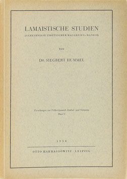 Hummel, Siegbert - Lamaistische Studien - (Geheimnisse tibetischer Malereien Bd. II)