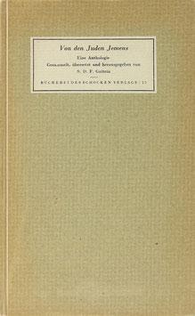 Goitein, S. D. F. - Von den Juden Jemens - Eine Anthologie