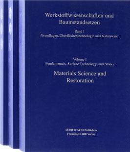 Werkstoffwissenschaften und Bauinstandsetzen - Berichtsband vom Vierten Internationalen Kolloquium