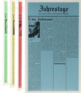 Johnson, Uwe - Jahrestage - Aus dem Leben von Gesine Cresspahl