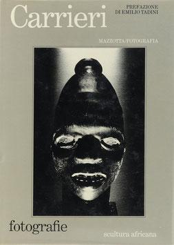 Carrieri, Mario - Fotografie - Scultura africana