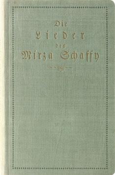 Bodenstedt, Friedrich - Die Lieder des Mirza-Schaffy mit einem Prolog