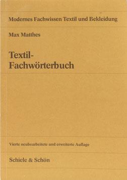 Matthes, Max - Textil-Fachwörterbuch