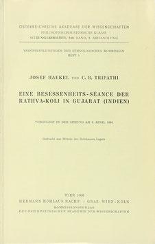 Haekel, Josef und Tripathi, C. B. - Eine Besessenheits-Séance der Rathva-Koli in Gujarat (Indien)
