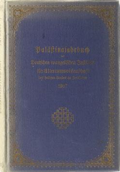 Palästinajahrbuch des Deutschen evangelischen Instituts für Altertumswissenschaft des heiligen Landes zu Jerusalem