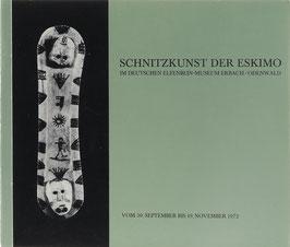 Hegemann, Hans Werner - Schnitzkunst der Eskimo aus dänischen, deutschen und schweizerischen Museen und Privatsammlungen