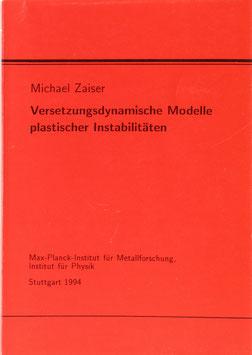 Zaiser, Michael - Versetzungsdynamische Modelle plastischer Instabilitäten