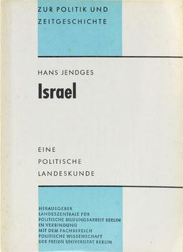 Jendges, Hans - Israel - Eine politische Landeskunde