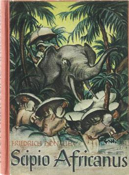 Donauer, Friedrich - Scipio Africanus - Kampf um das Mittelmeer