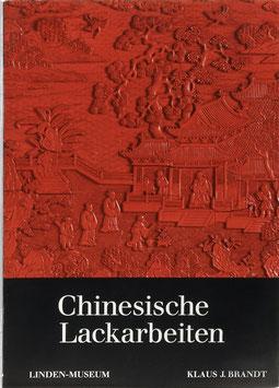 Brandt, Klaus Joachim - Chinesische Lackarbeiten