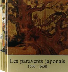 Scrépel, Henri - Les paravents japonais de paysages - 4 Bände