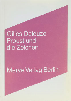 Deleuze, Gilles - Proust und die Zeichen