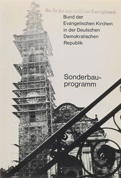 Bund der Evangelischen Kirchen in der Deutschen Demokratischen Republik - Sonderbauprogramm - Zwischenbericht - Berlin 1976