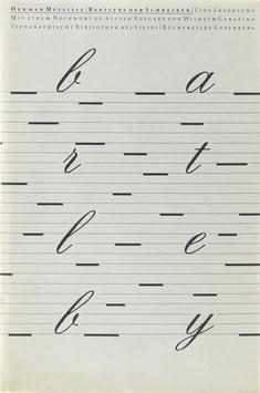 Melville, Herman - Bartleby der Schreiber - Eine Erzählung von Herman Melville