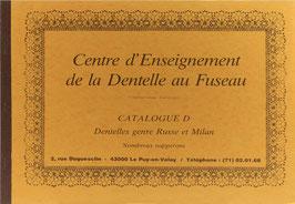 Fouriscot, Mick - Catalogue D - Dentelles genre Russe et Milan - Nombreux napperons