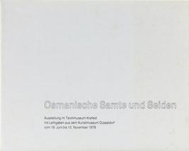 Osmanische Samte und Seiden