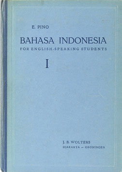 Pino, E. - Bahasa Indonesia - The National Language of Indonesia - A Course for English-Speaking-Students, I.