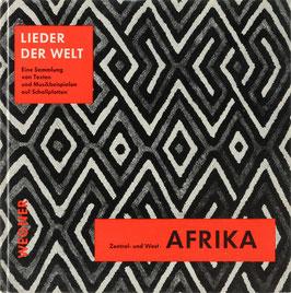 Konietzko, Boris - Lieder Zentral- und Westafrikas