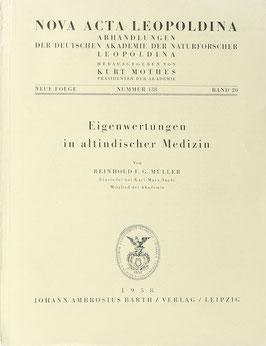 Müller, Reinhold F. G. - Eigenwertungen in altindischer Medizin