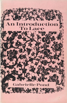 Pond, Gabrielle - An Introduction to Lace