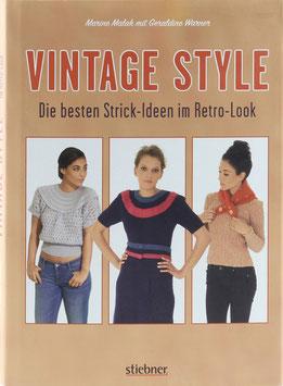 Malak, Marine und Warner, Geraldine - Vintage Style - Die besten Strick-Ideen im Retro-Look