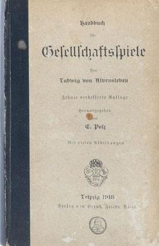 Alvensleben, Ludwig von - Handbuch für Gesellschaftsspiele
