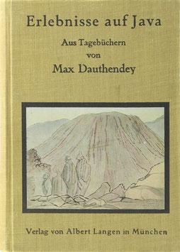 Dauthendey, Max - Erlebnisse auf Java - Aus Tagebüchern
