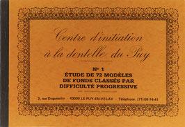 Fouriscot, Mick (Hrsg.) - No 1 - Étude de 72 modèles de fonds classés par difficulté progressive avec photographies d'echantillons
