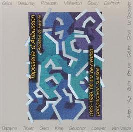 Tapisserie d'Aubusson - 1933-1999, 66 ans de création perspectives suisses