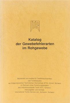 Katalog der Gewebefehlerarten im Rohgewebe