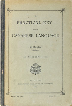 Ziegler, F. A - Practical Key to the Canarese Language