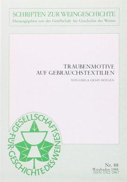 Graff-Höfgen, Gisela - Traubenmotive auf Gebrauchstextilien