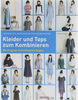 Tsukiori, Yoshiko - Japanisches Modedesign zum Selbernähen - Kleider und Tops zum Kombinieren - Mit Original-Schnittmusterbogen