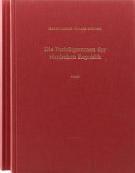 Vollenweider, Marie-Louise - Die Porträtgemmen der römischen Republik - Katalog und Tafeln