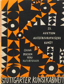 Außer-europäische Kunst - China - Persien - Afrika - Südsee - Peru