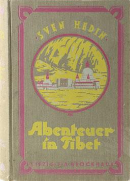 Hedin, Sven - Abenteuer in Tibet