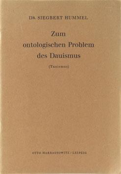 Hummel, Siegbert - Zum ontologischen Problem des Dauismus (Taoismus)