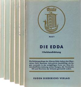 Thule - Altnordische Dichtung und Prosa