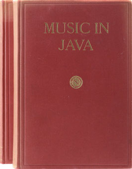 Kunst, J. - Music in Java - Its History, its Theory and its Technique